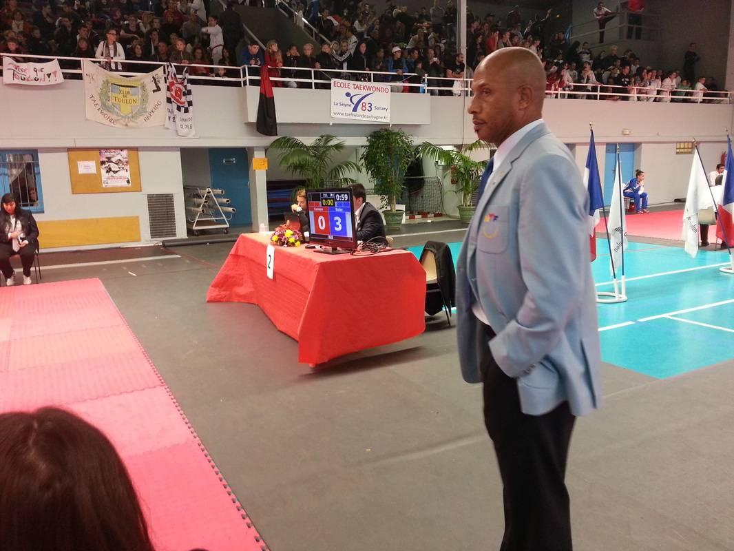 Arbitre de taekwondo